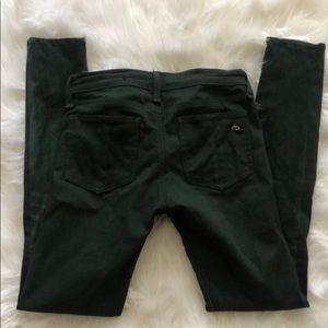 rag & bone Pants - Suede and denim Rag and Bone